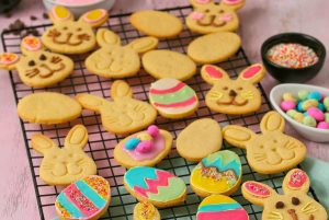 Easy Easter Butter Biscuits