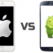 The Full History of Android VS iPhone Captured In Two Graphs