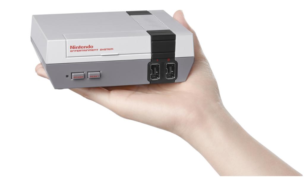 Nintendo NES classic console
