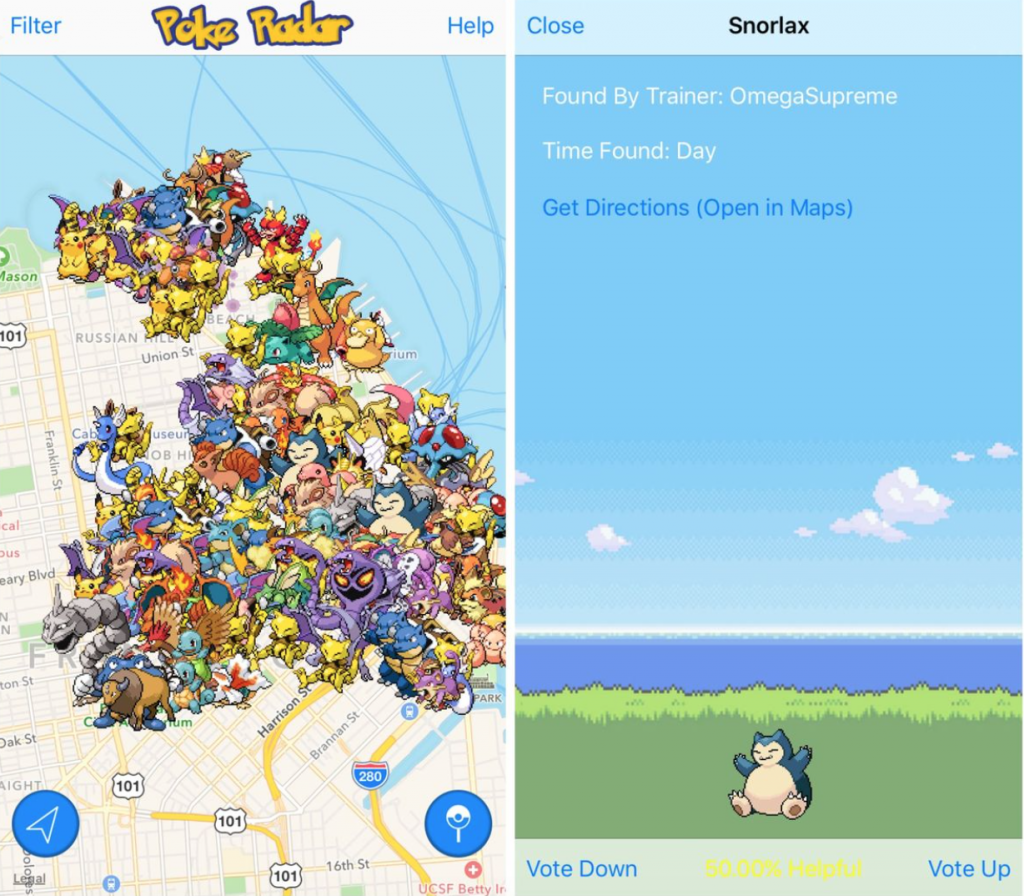 Find Rare Pokemon Using These Pokemon GO Tracker Apps   On Check