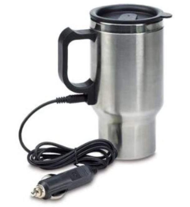 travel mug with charger
