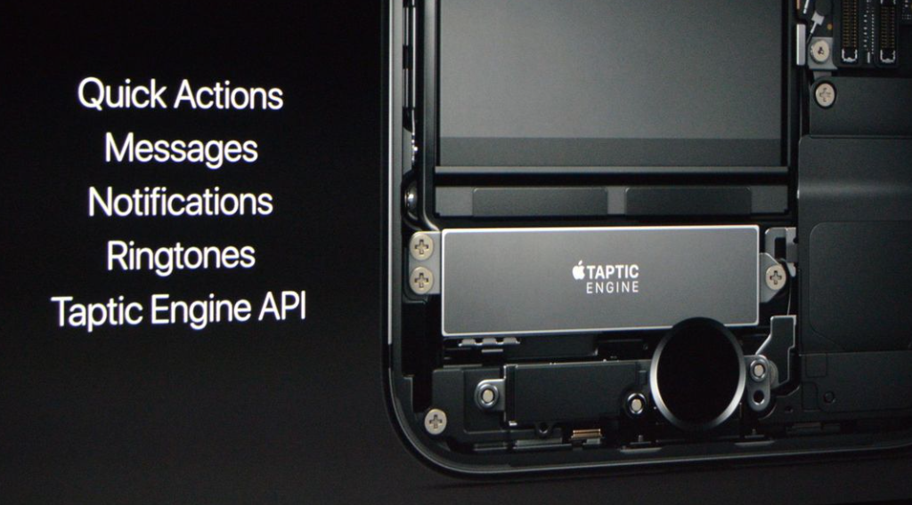 Taptic Engine New Home Button