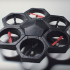 Meet The Airblock Drone That Transforms Into A Hovercraft