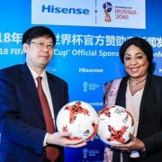Hisense Shoots And Scores In Preparation For FIFA 2018