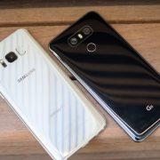 LG's G6 vs Samsung's Galaxy S8