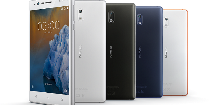 Android Powered Nokia 3 Launches Today
