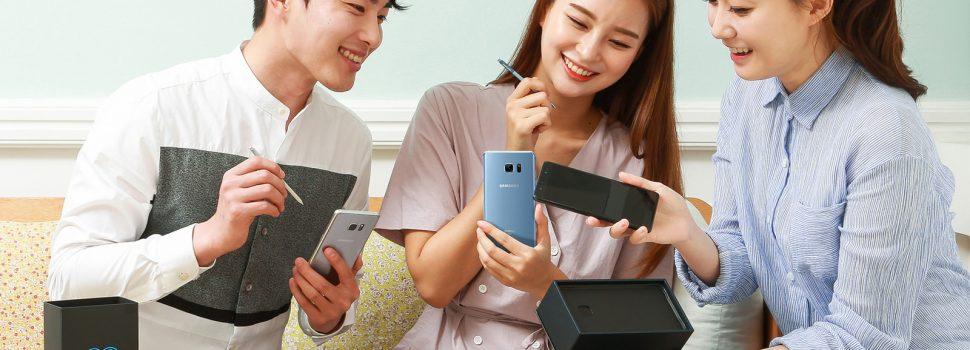 Samsung Unveils Galaxy Note 7 Fan Edition