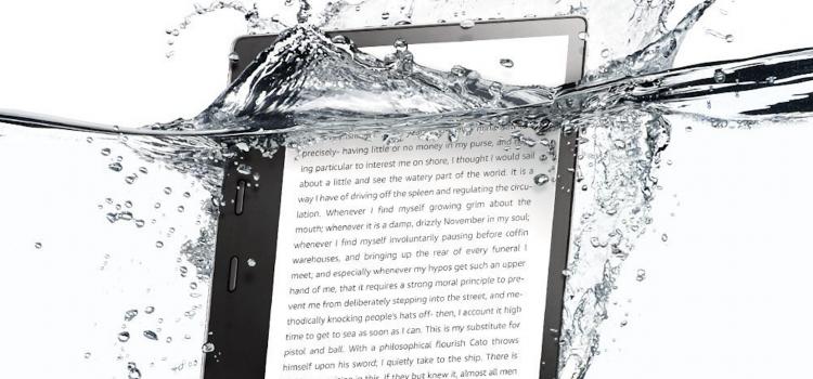 Amazon's finally made a waterproof Kindle