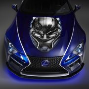 Marvel's Black Panther movie inspires new Lexus concept car