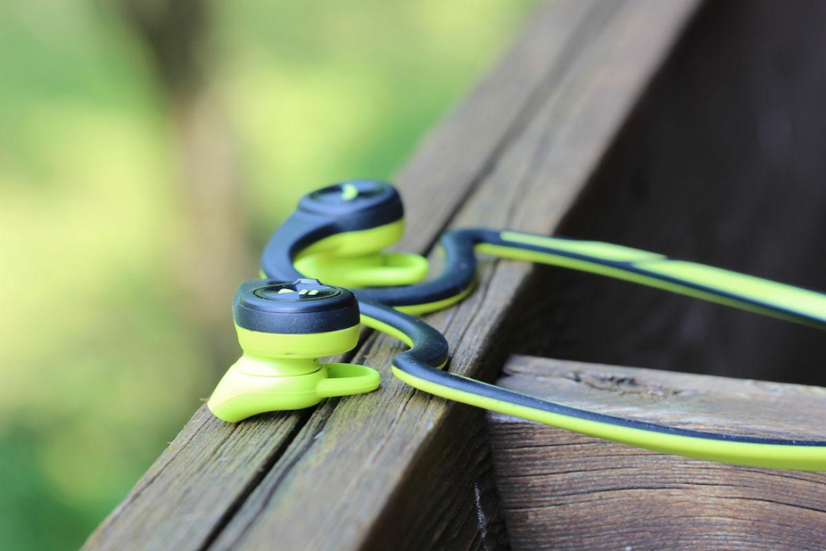 Backbeat Fit header green