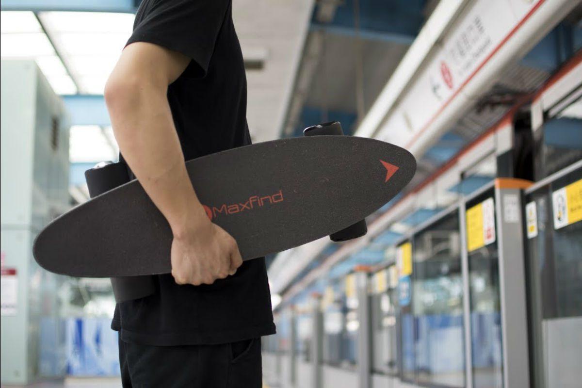 Maxfind electric skateboard
