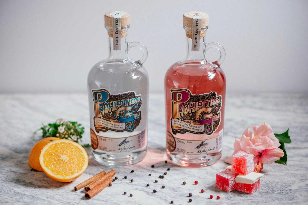 Silver Creek Distillery Prohibition gin