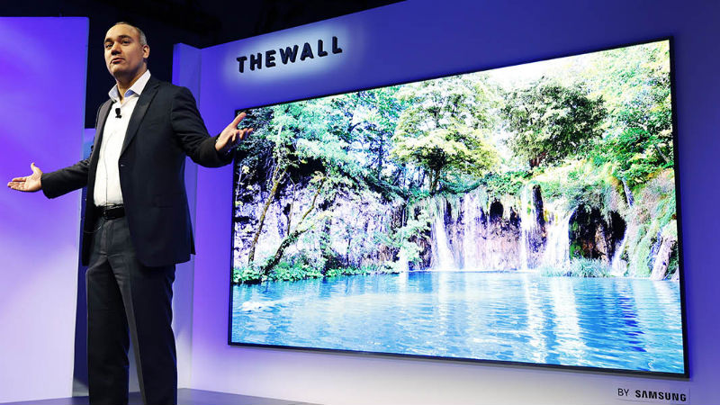 Samsung Confirms Massive Wall Sized Tvs Are Coming Soon