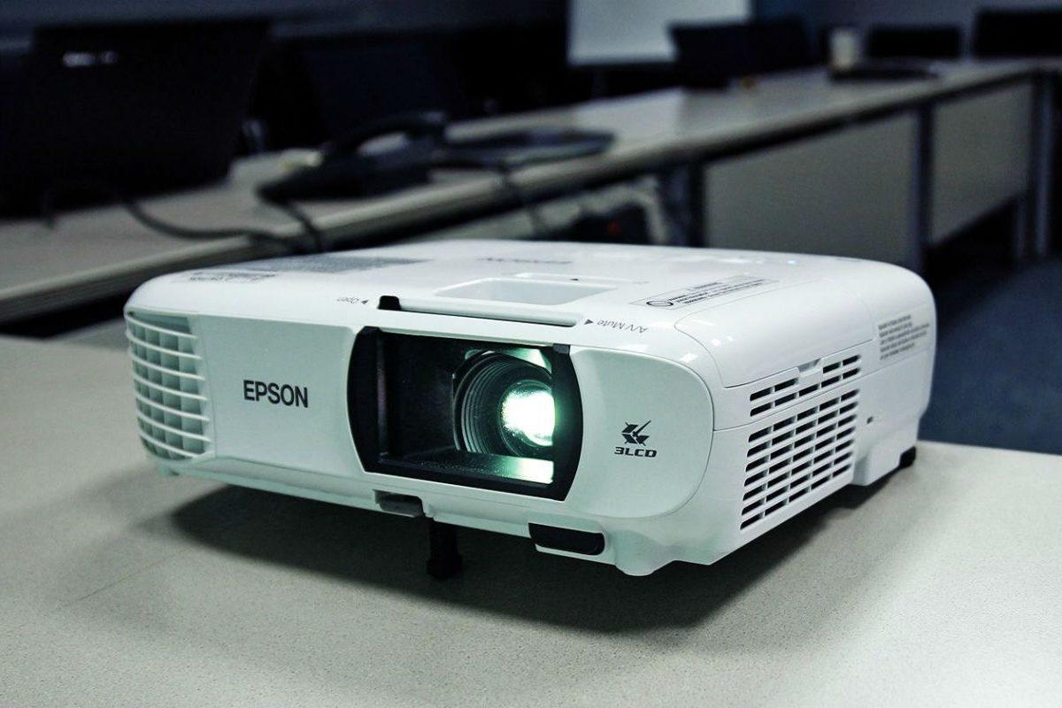 Epson projector header