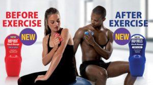 Deep Heat Muscle Roll-On & Deep Freeze Roll-On
