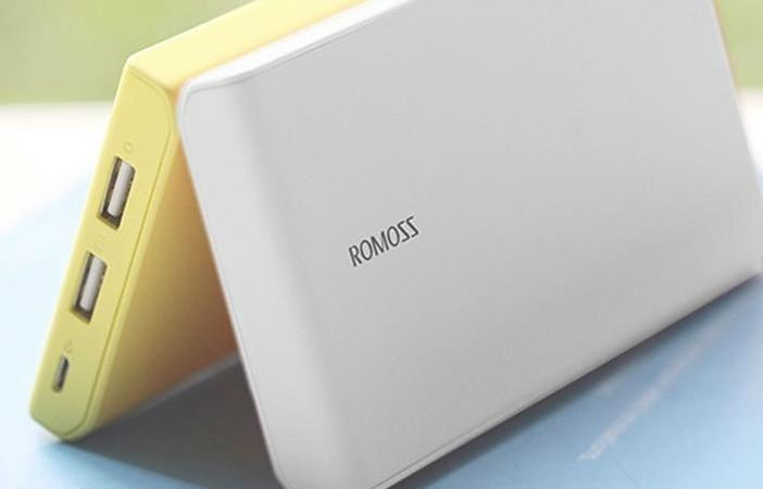 Romoss power bank header